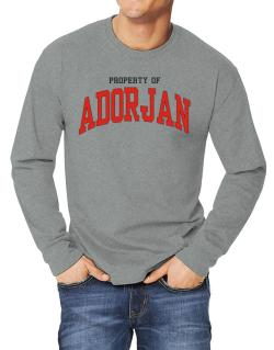 Property Of Adorjan Long-sleeve T-Shirt