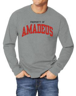 Property Of Amadeus Long-sleeve T-Shirt
