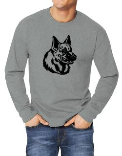 """ Belgian Malinois FACE SPECIAL GRAPHIC "" Long-sleeve T-Shirt"
