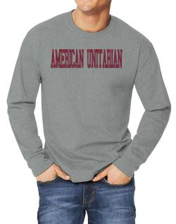 American Unitarian - Simple Athletic Long-sleeve T-Shirt