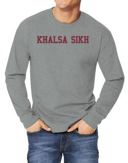 Khalsa Sikh - Simple Athletic Long-sleeve T-Shirt