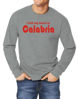 I Left My Heart In Calabria Long-sleeve T-Shirt