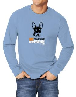 """ Fox Terrier MY BEST FRIEND - URBAN STYLE "" Long-sleeve T-Shirt"