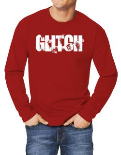 Glitch - Simple Long-sleeve T-Shirt