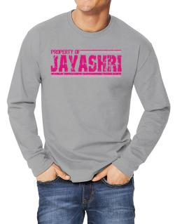 Property Of Jayashri - Vintage Long-sleeve T-Shirt