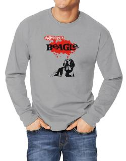 Owned By A Beagle Long-sleeve T-Shirt