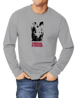 Primal Power - Rhino Long-sleeve T-Shirt