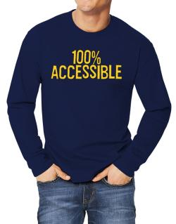 100% Accessible Long-sleeve T-Shirt