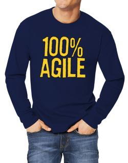 100% Agile Long-sleeve T-Shirt