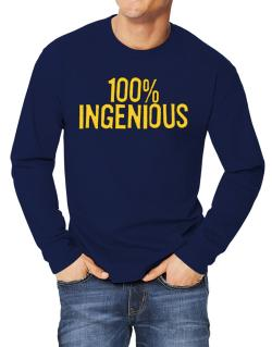 100% Ingenious Long-sleeve T-Shirt