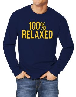 100% Relaxed Long-sleeve T-Shirt