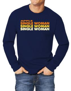 Apple Single Woman Long-sleeve T-Shirt