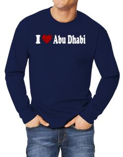 I Love Abu Dhabi Long-sleeve T-Shirt