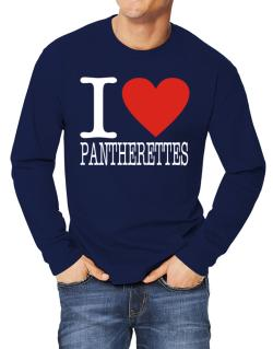 I Love Pantherettes Long-sleeve T-Shirt