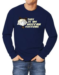This Is My Wiccan Costume Long-sleeve T-Shirt