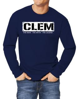 Clem : The Man - The Myth - The Legend Long-sleeve T-Shirt