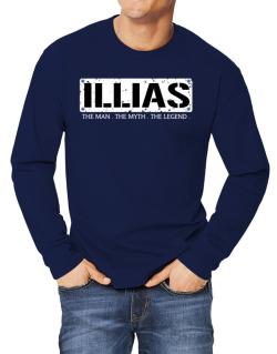 Illias : The Man - The Myth - The Legend Long-sleeve T-Shirt