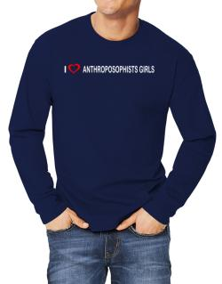 I love Anthroposophists Girls  Long-sleeve T-Shirt