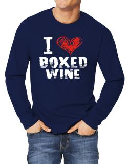 I love boxed wine Long-sleeve T-Shirt