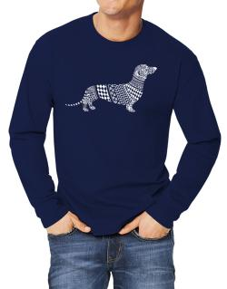 Dachshund Artistic Long-sleeve T-Shirt