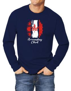 Accounting Clerk - Canada  Long-sleeve T-Shirt