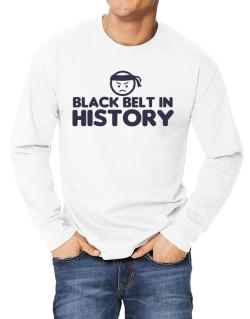 Black Belt In History Long-sleeve T-Shirt
