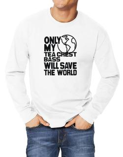 Only My Tea Chest Bass Will Save The World Long-sleeve T-Shirt