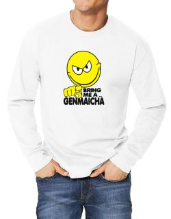 Bring Me A ... Genmaicha Long-sleeve T-Shirt