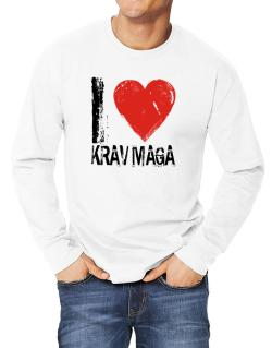 I Love Krav Maga Long-sleeve T-Shirt