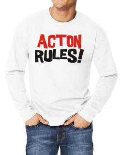 Acton Rules! Long-sleeve T-Shirt