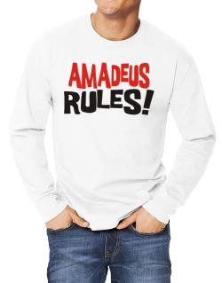 Amadeus Rules! Long-sleeve T-Shirt