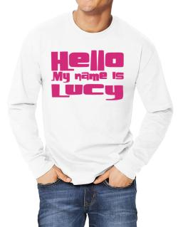 Hello My Name Is Lucy Long-sleeve T-Shirt