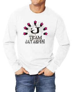 Team Jayashri - Initial Long-sleeve T-Shirt