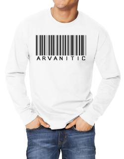 Arvanitic Barcode Long-sleeve T-Shirt