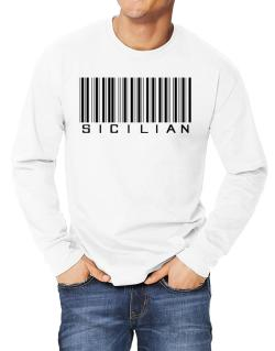Sicilian Barcode Long-sleeve T-Shirt