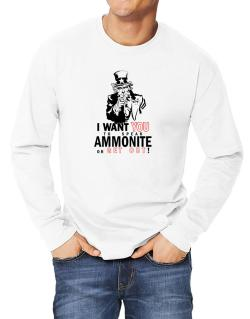 I Want You To Speak Ammonite Or Get Out! Long-sleeve T-Shirt