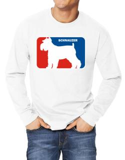 Schnauzer Sports Logo  Long-sleeve T-Shirt