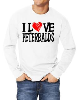 I Love Peterbalds - Scratched Heart Long-sleeve T-Shirt