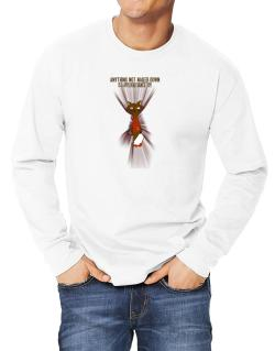 Anything Not Nailed Down Is An Applehead Siamese Toy! Long-sleeve T-Shirt