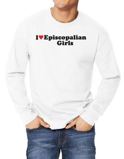 I Love Episcopalian Girls Long-sleeve T-Shirt