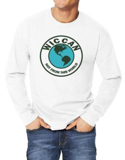Wiccan Not From This World Long-sleeve T-Shirt