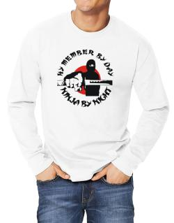 Hy Member By Day, Ninja By Night Long-sleeve T-Shirt