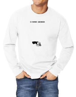 I Come Armed - Revolver Long-sleeve T-Shirt