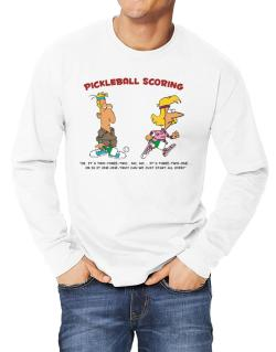 Pickleball Scoring Long-sleeve T-Shirt