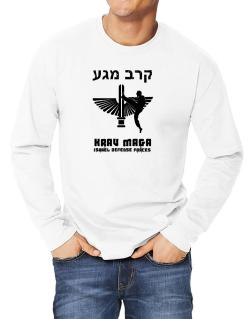 Krav Maga Hebrew Long-sleeve T-Shirt
