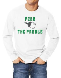 Polo Manga Larga de Fear the Paddle Pickleball