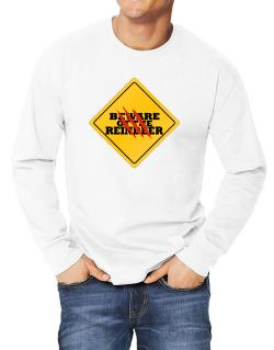Beware of the Reindeer Long-sleeve T-Shirt