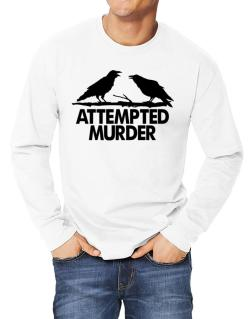 Crows Attempted Murder Long-sleeve T-Shirt