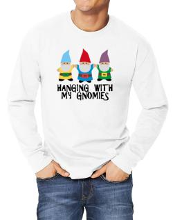 Hanging with my Gnomies Long-sleeve T-Shirt