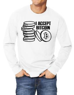 I accept Bitcoin Long-sleeve T-Shirt
